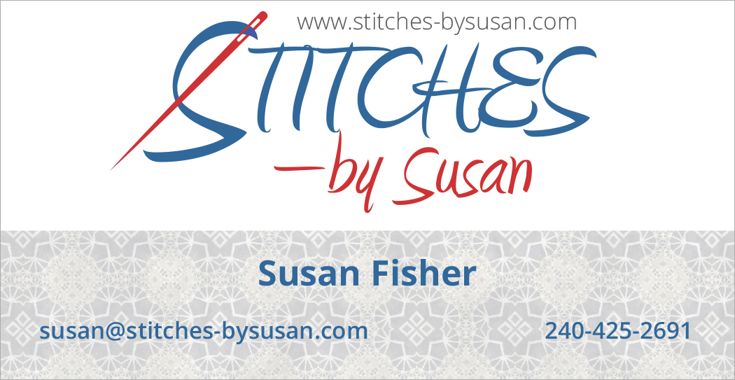 Stitches by Susan.