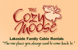Cozy Moose logo.