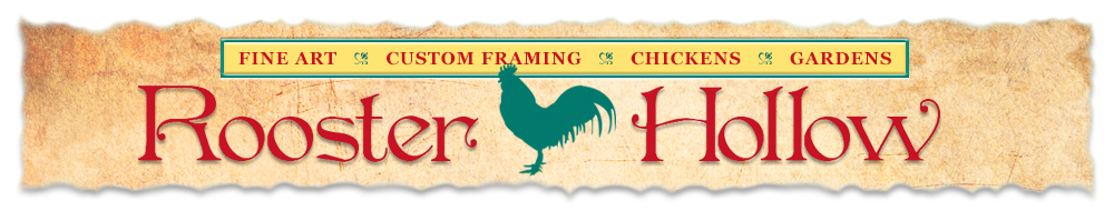 Rooster Hollow logo.